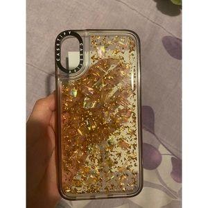 Casetify iPhone XR Gold Karat Case